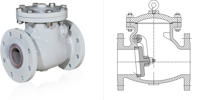 Swing Check Valves, API-6D Valves